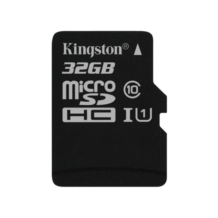 Kingston Micro SDHC 32GB, UHS-I, Class 10 - rýchlosť čítania 45 MB/s (SDC10G2/32GBSP)