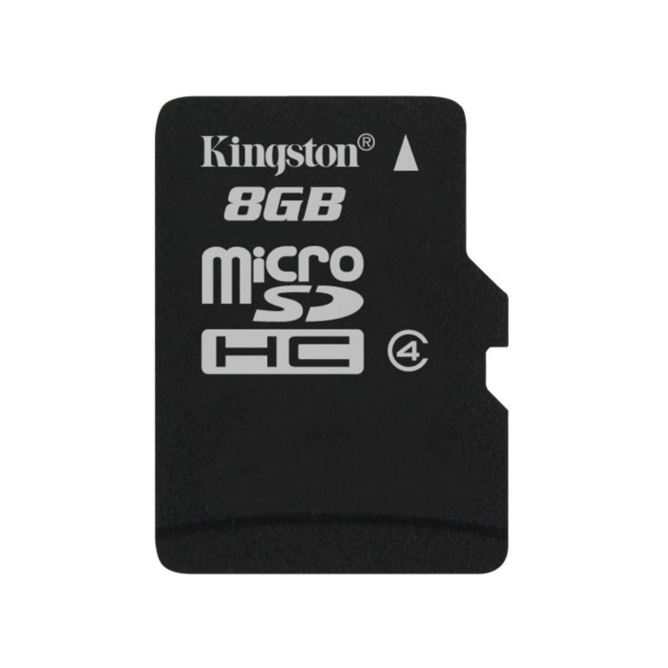 Kingston Micro SDHC 8GB, Class 4 (SDC4/8GBSP)