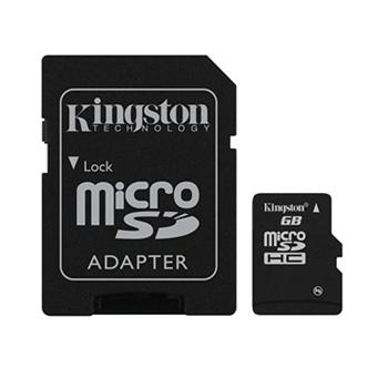 Kingston Micro SDHC Card 32GB + SD adapt�r, Class 10 - r�chlos� 30 MB/s