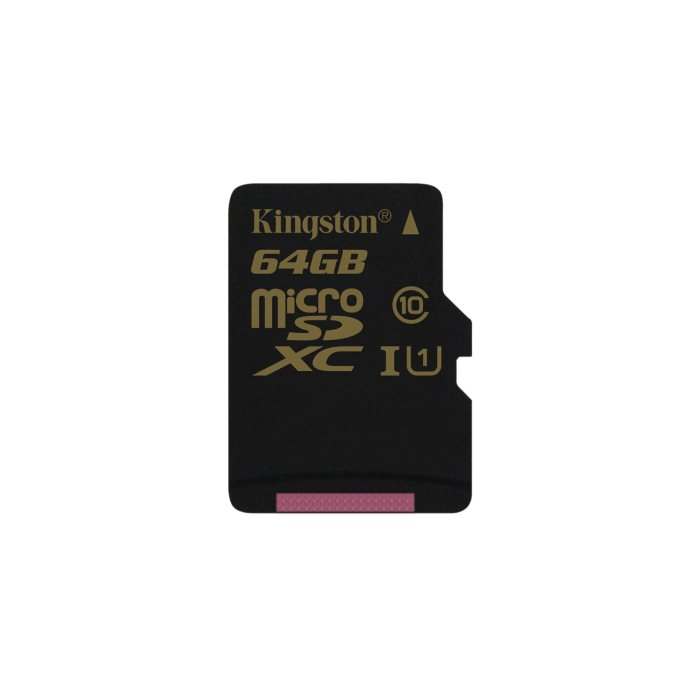Kingston Micro SDXC 64GB, UHS-I, Class 10 - r�chlos� 90 MB/s, r�chlos� z�pisu 45 MB/s