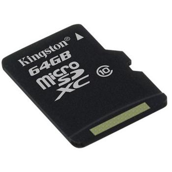 Kingston Micro SDXC Card 64GB, Class 10 - r�chlos� 30 MB/s