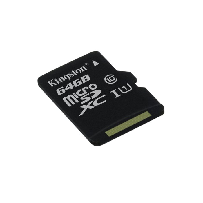 Kingston Micro SDXC UHS U1 64GB, Class 10 - r�chlos� 45 MB/s