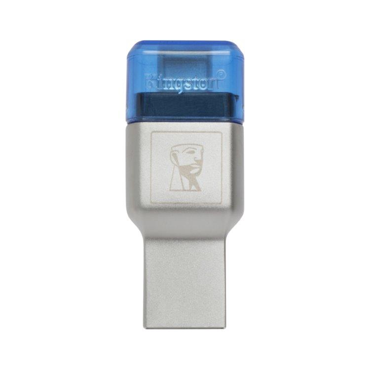 Kingston MobileLite Duo 3C USB 3.1 + USB-C externá čítačka pamäťových kariet