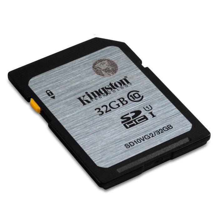 Kingston Secure Digital SDHC UHS-I 32GB | Class 10, rýchlosť až 45MB/s