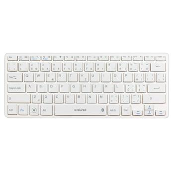 Kl�vesnica Evolveo WK29W Bluetooth pre GoClever Tab R974, White