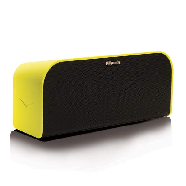 Klipsch KMC 1, prenosn� audio syst�m, Yellow