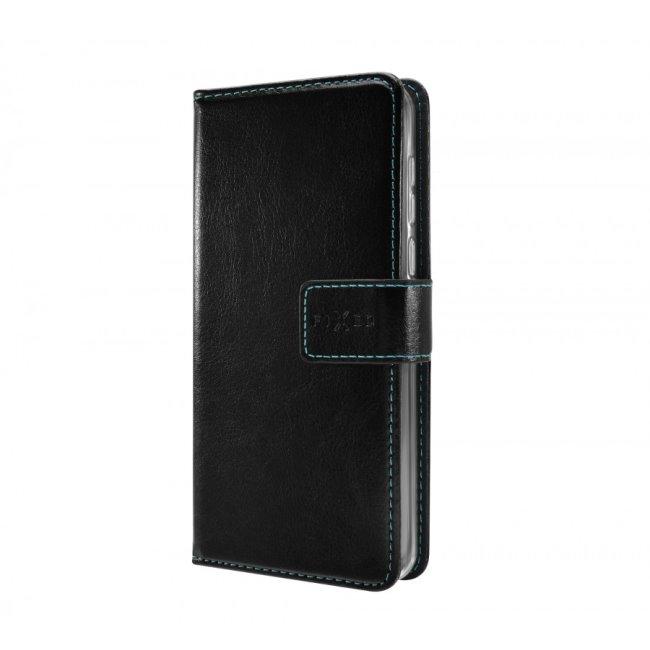 Knižkové puzdro Fixed Opus pre Samsung Galaxy M21, čierne