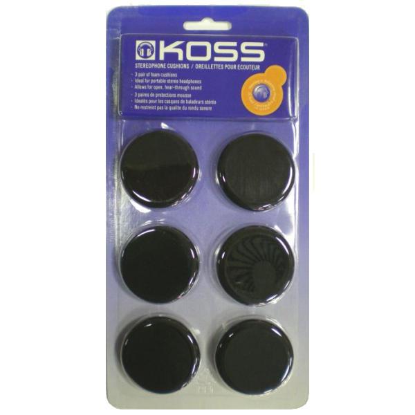 Koss náhradné penové náušníky Porta Pro - 3 páry