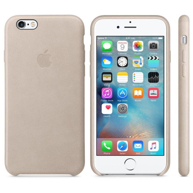 Kožené originálne puzdro Apple MKXR2ZM A pre Apple iPhone 6 a 6S 9e700163f06