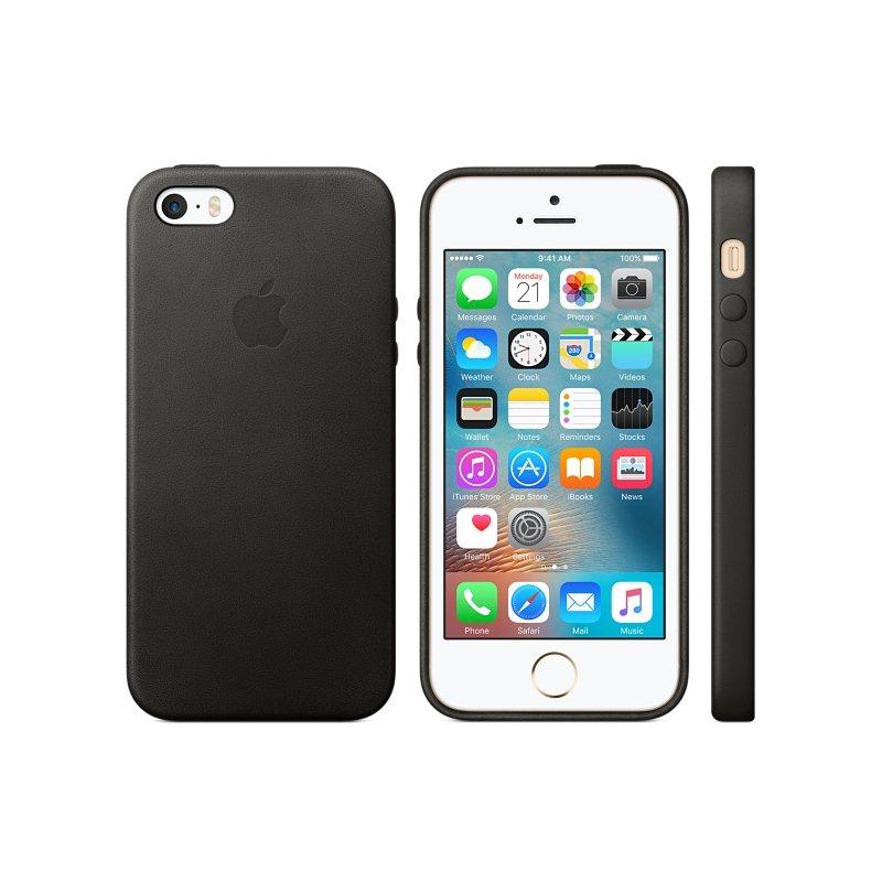 Kožené originálne puzdro Apple MMHH2ZM A pre Apple iPhone 5 6874c779752
