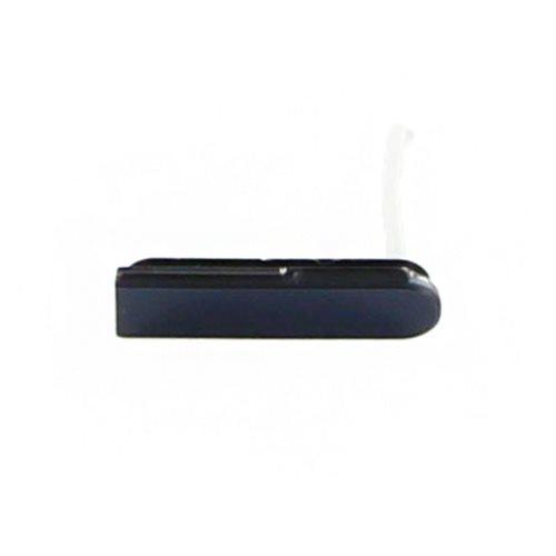 Krytka na Mico USB konektor pre Sony Xperia Z - C6603, Black
