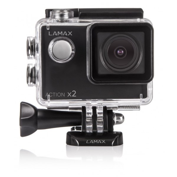 Lamax Action X2, 720p, 30fps, vodotesn� 30m, LCD