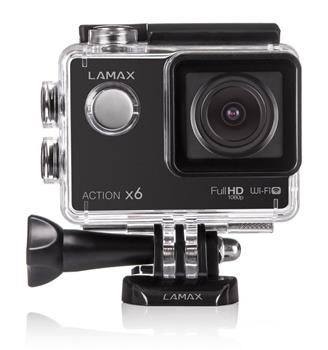 Lamax Action X6, 1080p, 60fps, vodotesn� 30m, LCD, WiFi
