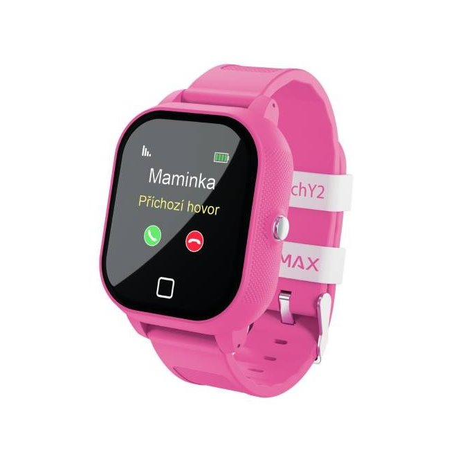 LAMAX WatchY2, Pink - Detské SmartWatch s GPS