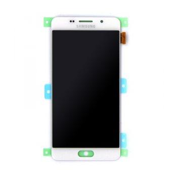 LCD displej + dotyková plocha pre Samsung Galaxy A5 2016 - A510F, White