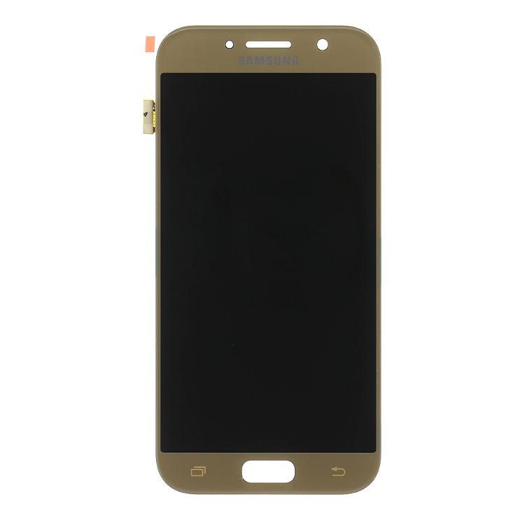LCD displej + dotyková plocha pre Samsung Galaxy A5 2017 - A520F, Gold