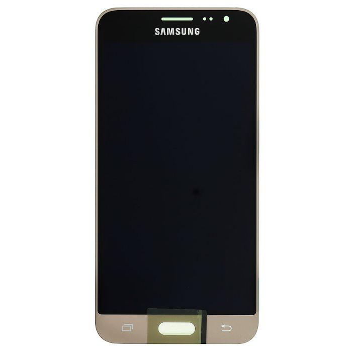 LCD displej + dotyková plocha pre Samsung Galaxy J3 (2016) - J320F, Gold