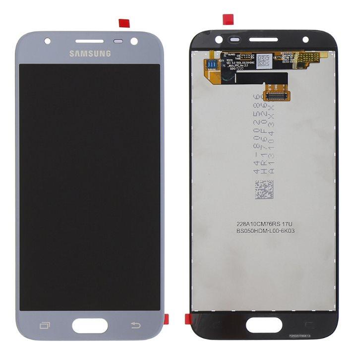 LCD displej + dotyková plocha pre Samsung Galaxy J3 2017 - J330F, Silver 8595642267604