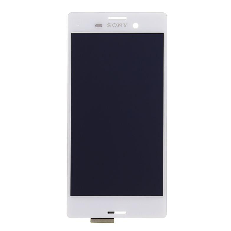 LCD displej + dotyková plocha pre Sony Xperia M4 Aqua - E2303, White