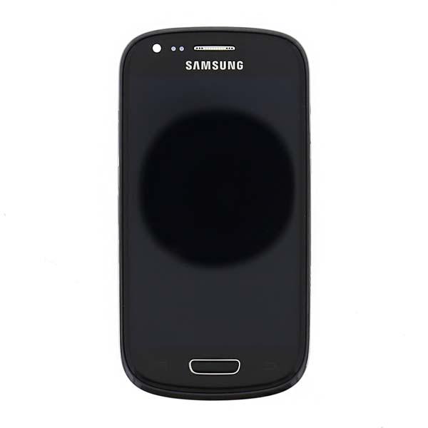 LCD displej + dotyková plocha + predný kryt pre Samsung Galaxy S3 mini VE - i8200, Black