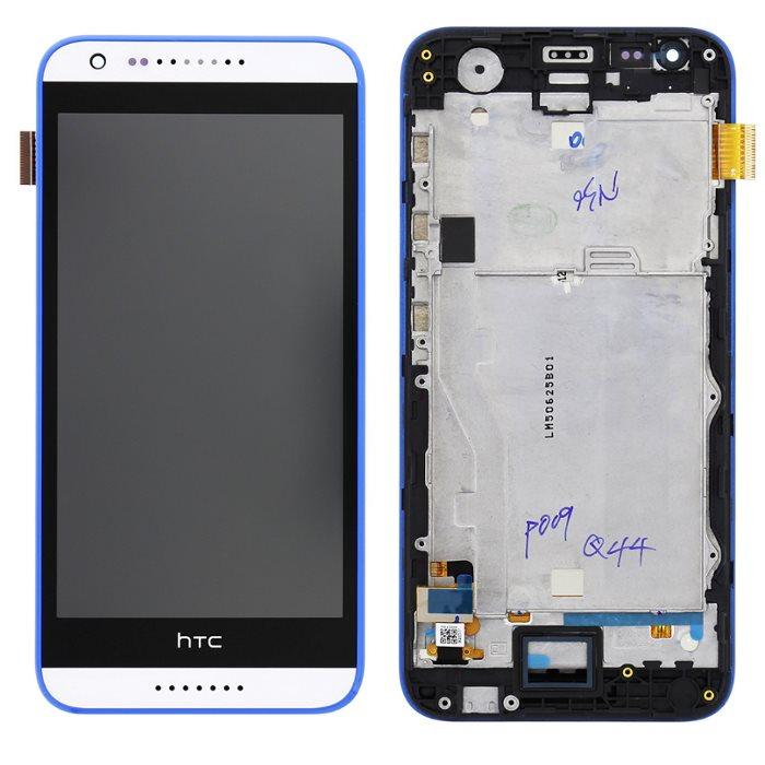 LCD displej + krycie sklo + dotyková plocha pre HTC Desire 620, White