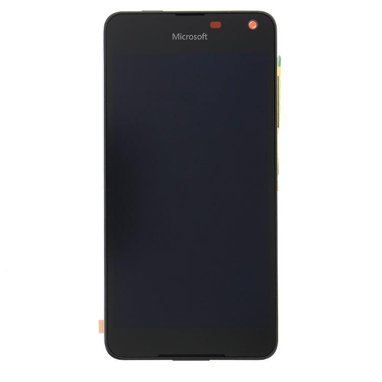 LCD displej + krycie sklo + dotyková plocha pre Microsoft Lumia 650, Black 8595642226373