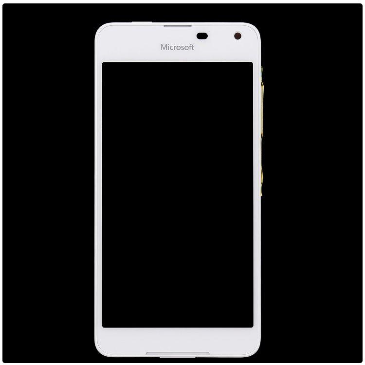 LCD displej + krycie sklo + dotyková plocha pre Microsoft Lumia 650, White 8595642226380