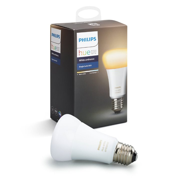 LED žiarovka Philips Hue 9.5W E27, White Ambiance