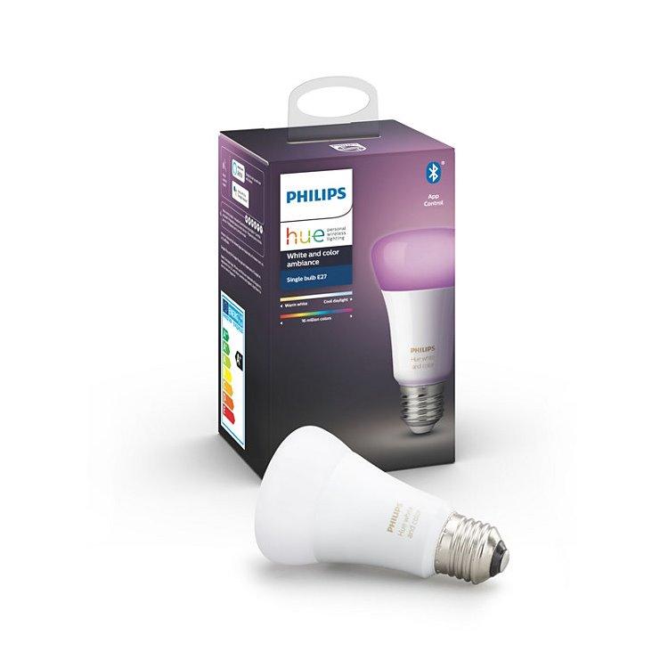 LED žiarovka Philips Hue 9W E27, White and Color