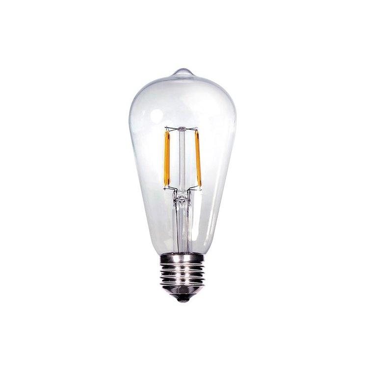 LED žiarovka retro Solight 8W, E27, 3000K, 810lm