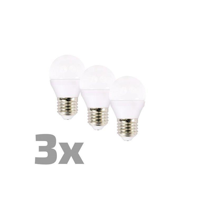 LED žiarovka Solight 6W, E14, 3000K, 450lm - 3ks v balení