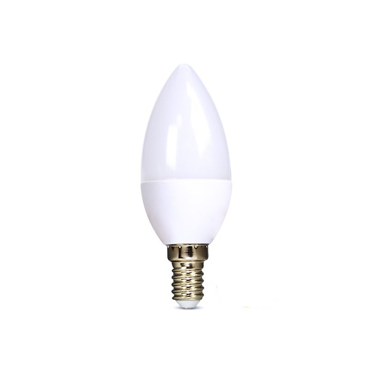 LED žiarovka Solight 6W, E14, 3000K, 450lm