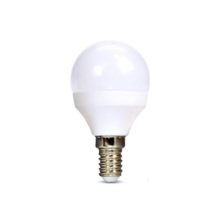 LED žiarovka Solight 8W, E14, 4000K, 720lm