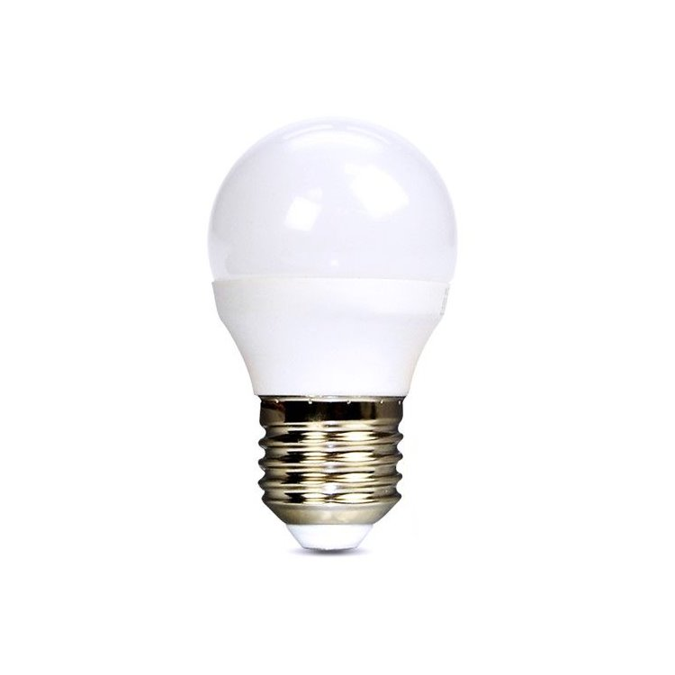LED žiarovka Solight 8W, E27, 4000K, 720lm
