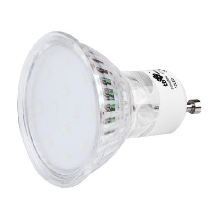 LED žiarovka TB Energy - GU10 - 4, 5W, Teplá biela