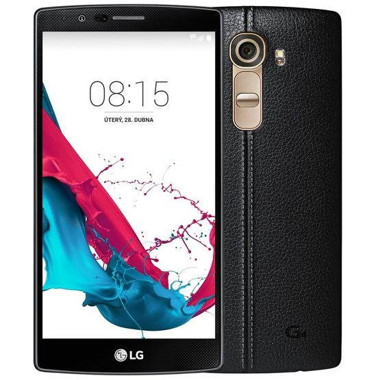 LG G4 - H815, 32GB, Black Leather