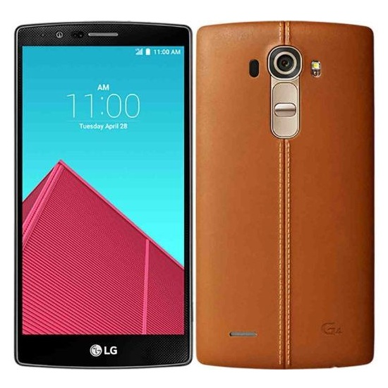 LG G4 - H815, 32GB, Brown Leather