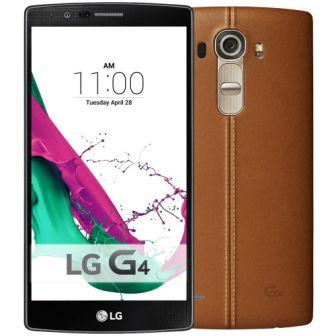 LG G4 - H815, Model: H811, 32GB | Brown Leather, Trieda B - pou�it�, z�ruka 12 mesiacov