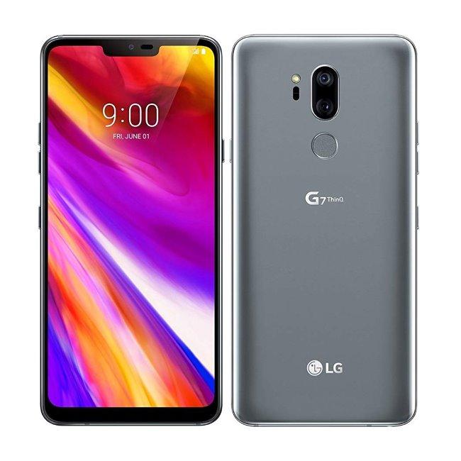 LG G7 ThinQ, 64 GB, Platinum Grey