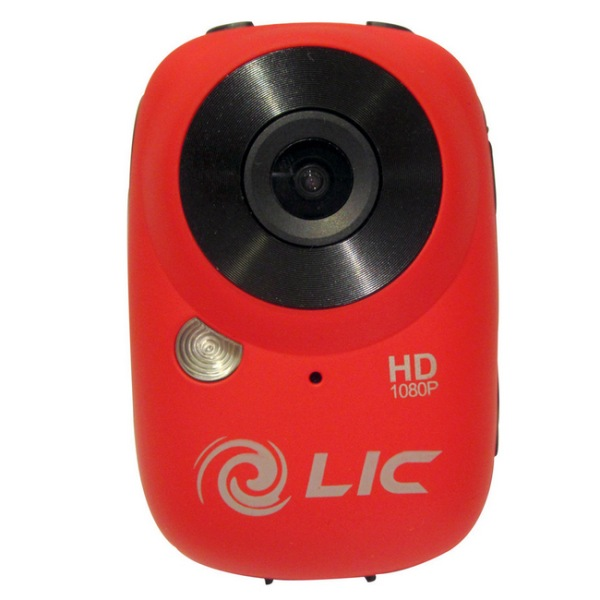 Liquid Image Ego HD - odoln� FullHD kamera, Red