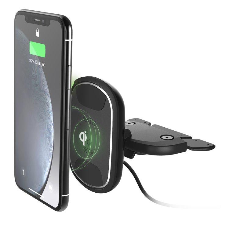 Magnetický držiak do auta iOttie iTap 2 Wireless s podporou bezdrôtového nabíjania do CD-slotu HLCRIO139