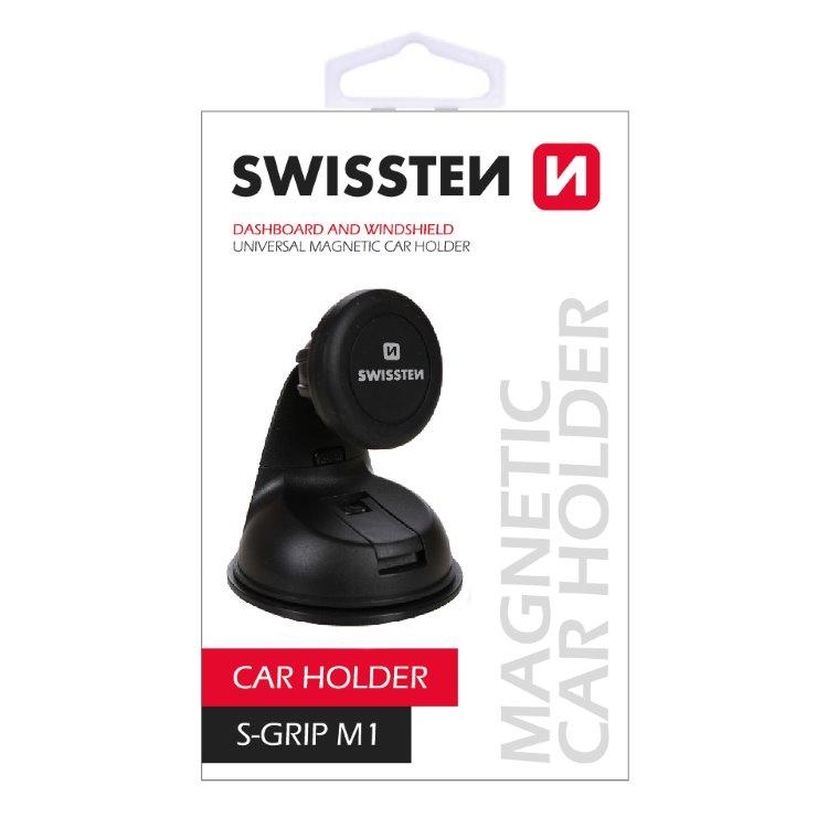 Magnetický držiak Swissten S-Grip M1 na palubnú dosku