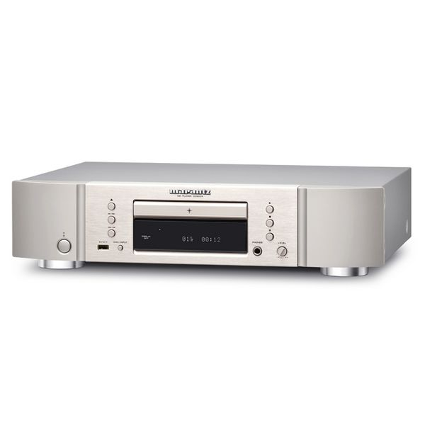 Marantz CD6005 CD Player, silver gold