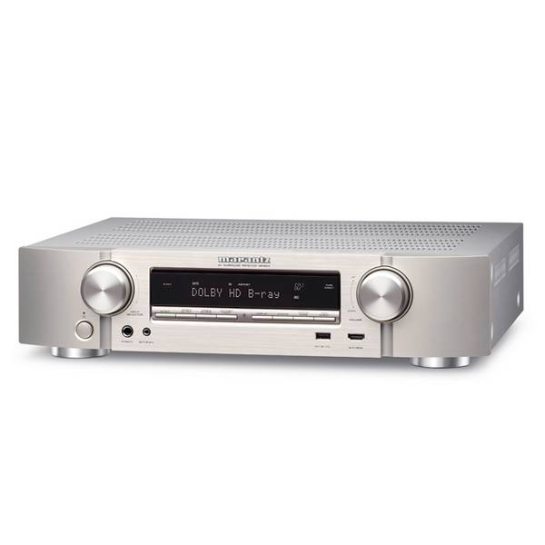 Marantz NR1604 - 7 Channel AV Receiver, Silver Gold