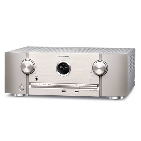 Marantz SR5008 - 7 Channel AV Receiver, Silver Gold