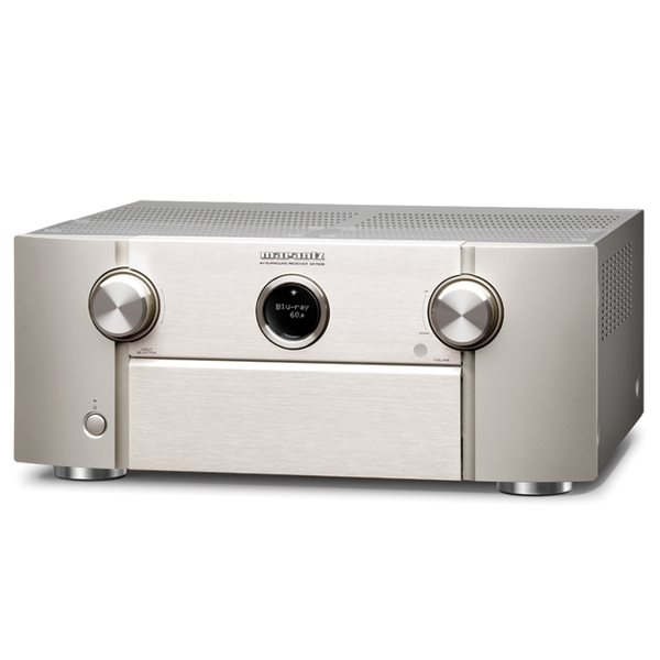 Marantz SR7009 - 9 Channel AV Receiver, Silver Gold