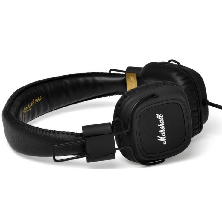 Marshall Major II, káblový Stereo Headset s 3.5mm jackom, Black