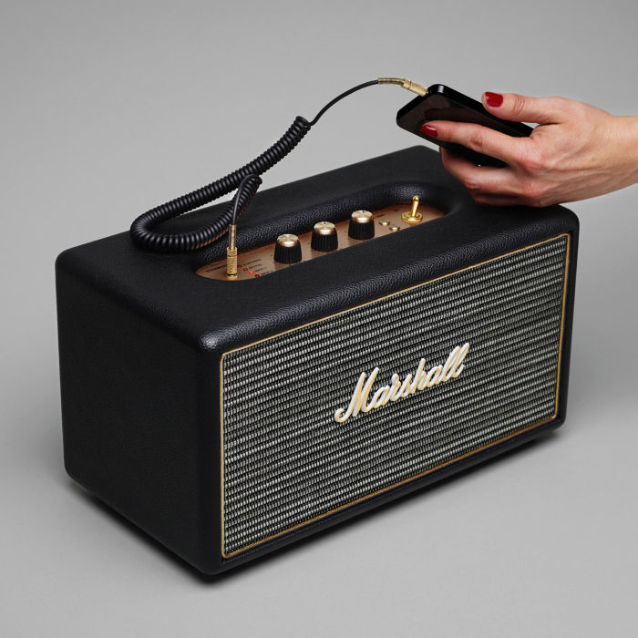 Marshall Stanmore Stereo Reprobedna 2x20W + 1x40W, Black