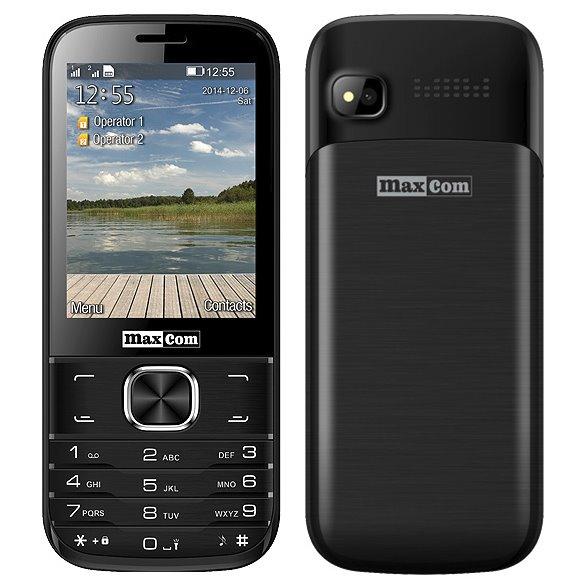 MaxCom MM237, Dual SIM, čierny - SK distribúcia