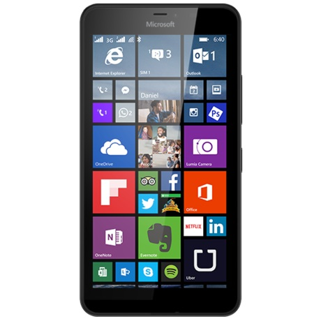 Microsoft Lumia 640 XL LTE, Black - SK distrib�cia